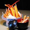 料理メニュー写真北海道近海のとげズワイガニ 焼き盛り~〆の鉄砲汁カニ酢付き~