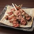 料理メニュー写真白レバー串焼