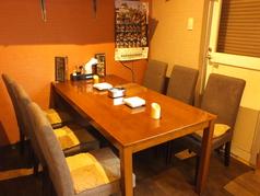 2名様、4名様、6名様掛けのテーブルごさいます。結合も出来ますのでご連絡頂けましたら人数に合わせて対応させて頂きます!