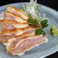 料理メニュー写真新得より/新得地鶏■たたき 780円