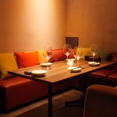 プライベート感満載のソファー個室