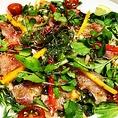 鮮魚の野菜たっぷりカルパッチョ