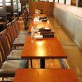 ご利用人数に合わせたお席へご案内致します!温もり溢れる落ち着いたプライベート空間となっておりますので、存分に会話とお料理をお楽しみください。調理法にこだわったアラカルトメニューやお子様向けのコースもございますので、ご家族でのお食事やママ会にもぴったりです。