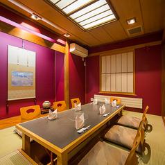 様々な集いの席に人気の格式あるお部屋です