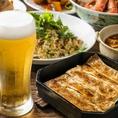 紅虎の餃子といえば鉄鍋に入った『鉄鍋棒餃子』ビールとの相性も抜群!ヤミツキ必至の大大大ヒットMENU♪是非食べて頂きたい自慢のお料理です。