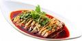 料理メニュー写真よだれ鶏、海鮮サラダ
