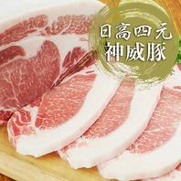 北海道のブランド豚「日高四元 神威豚」