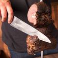 当店自慢のこだわり肉料理、じっくりと焼き上げた逸品です。目利きからこだわったお肉をリーズナブルな価格でご提供。幅広い世代の方々に人気です!