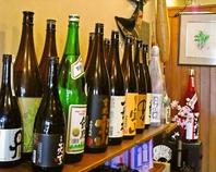 充実したお酒の種類
