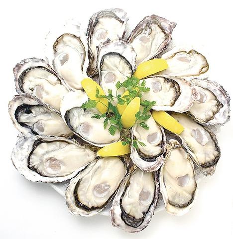 「海洋深層水」の恵みをそのままに、牡蠣を中心としたシーフードを満喫♪