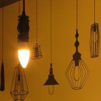 「ランプ」はお店のシンボル!いたる所に隠れてます♪