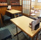 4名様掛けテーブル×2台