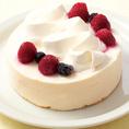 【宴会無料グッズ1:ケーキ】各種ご宴会を盛り上げる無料グッズをご用意しております。お祝いごとには『ケーキ』のサプライズ♪※要予約。詳細を店舗にお問合せください。※写真はイメージです。