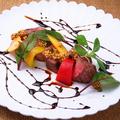 料理メニュー写真尾崎牛みすじ肉の炭火焼き