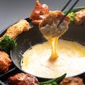 料理メニュー写真チーズダッカラアゲ