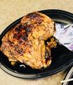 料理メニュー写真丸鶏の半身焼き(たれ)