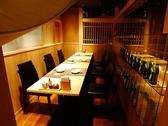 テーブル個室新しく個室を作りました。宴会場から、離れているので少し静かです。店内のはなれ