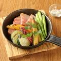 料理メニュー写真本日の野菜の窯焼き~ハーブソルトで~