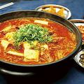 料理メニュー写真★韓国フェア★スンドゥブチゲ