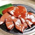 料理メニュー写真焼レバー(肝臓)