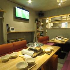 別邸870~ハナレ~ソファー席なのでゆったり座れます。各種宴会、スポーツ観戦、お子様連れのお客様に満足していただけるお部屋です。