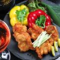 料理メニュー写真若鶏のやわらか唐揚げ