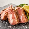 料理メニュー写真牛タンレアステーキ