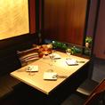 オーソドックスタイプのテーブル席
