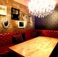 ゴージャスVIP個室はコンパ、女子会、ママ会など様々なシーンでご利用いただけます!