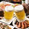 スペインのバルをイメージした「グランビア イオン新浦安店」。各種宴会はもちろん、記念日、誕生日会、二次会などの様々シーンで幅広くご利用いただけます。