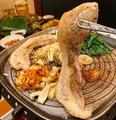 料理メニュー写真ブランド豚サムギョプサル