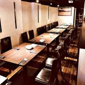 貸切10~30名OK ウェディング2次会のご予約受け付けております。貸切時のテーブルの様子です♪