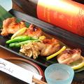 料理メニュー写真大山地鶏の幽庵焼