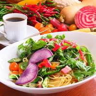 鎌倉野菜をふんだんに使用したスパゲッティー♪