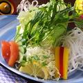 料理メニュー写真月花の美人さらだ 十種の彩り野菜