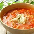 料理メニュー写真ホールフード ベジタブルスープ