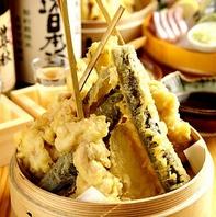 【米油100%使用した名物天ぷら☆】揚げたてサックサク!