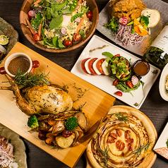 個室&wine 肉バル chicken diner IRISE 横浜店のコース写真