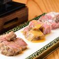 料理メニュー写真飛騨牛麹漬け