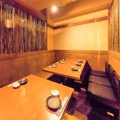 12名~20名様用完全個室単品飲み放題も可能。好きな地鶏料理とお酒をお楽しみください。