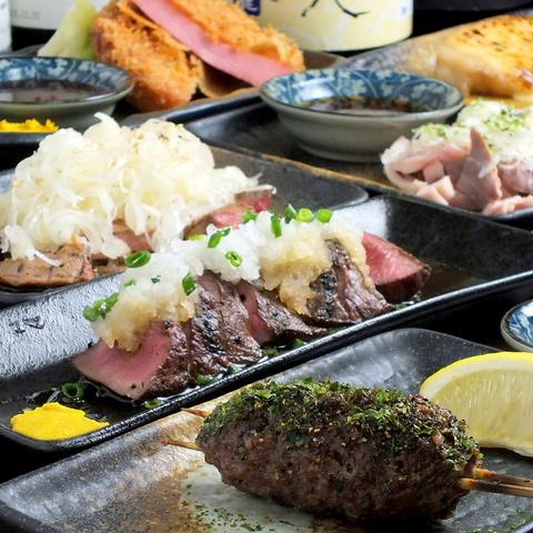 立川駅から歩いてスグ!串焼き・焼き鳥・・絶品一品料理・レア酒を楽しめる居酒屋