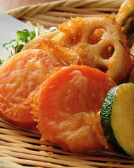 【名物!】野菜の唐揚げ盛り合わせ
