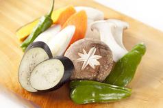 季節の焼野菜盛合せ