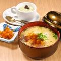 料理メニュー写真~おまかせコース~雑炊、 デザート