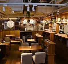 瓦 ダイニング kawara CAFE&DINING 天王寺ミオ店の雰囲気1