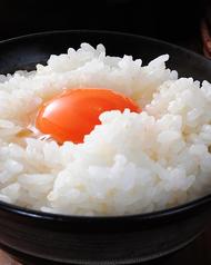 棚田米こしひかりを土鍋で炊き上げた卵かけご飯