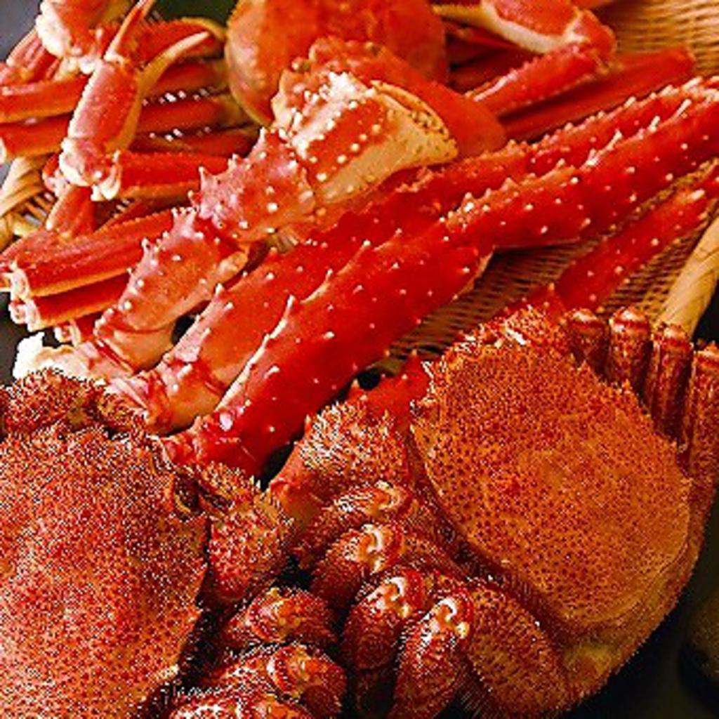 オホーツク海からの恵み!活毛蟹♪鮮度はちょ~抜群です★ご注文頂いてからさばきます!