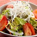 料理メニュー写真リンゴ酢サラダ