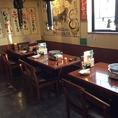 テーブル席2名から12名