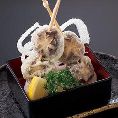 椎茸串天 (2 本)